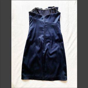 Cache Dresses - CACHE satin strapless dress